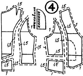 простые выкройки теплых сарафанов
