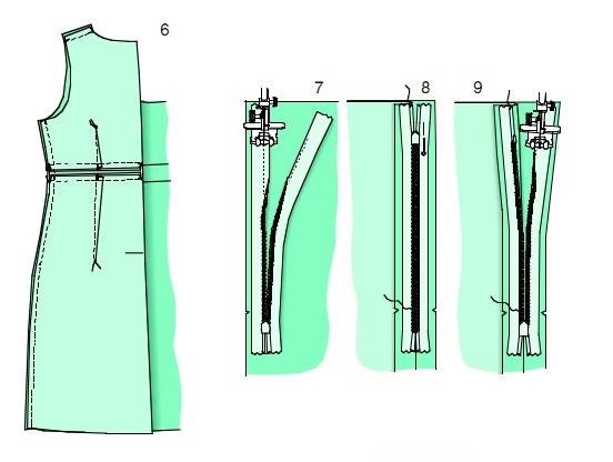 Выкройка платья русалка 42-54