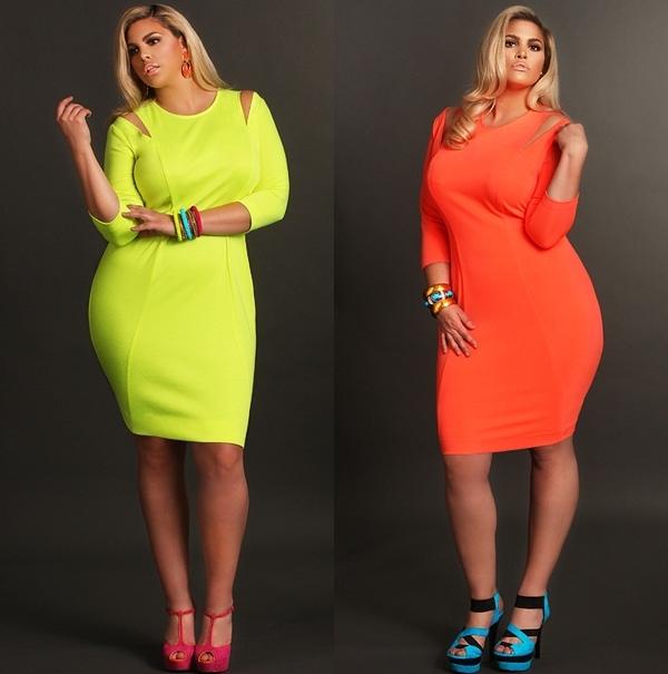 одежда для полных, модные тренды 2013