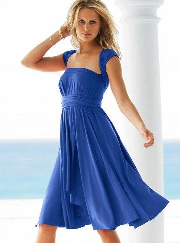 Мода Платье Сарафан Деловой Стиль 75