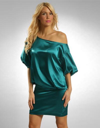 Атласные платья. Платье из атласа.
