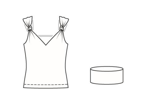 выкройки одежды выкройка топа скачать | вязание